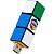 Rubics Cube USB-Stick: Bilderrätsel
