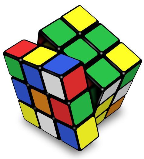 Rubics Cube: Bilderrätsel